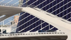 City of Arts and Sciences in Valencia Stock Footage