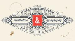 Vintage label. organized by layers - stock illustration