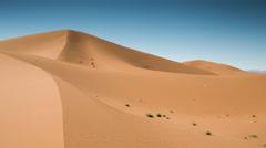 Erg chigaga dune sand sahara desert morocco 4k Stock Footage
