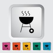 Stock Illustration of BBQ icon