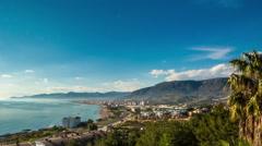 Turkey coast landscape timelapse Stock Footage