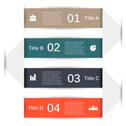 Vector infographic. Template for diagram, graph, presentation and chart Piirros