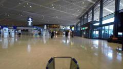 Narita International airport Stock Footage