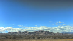Bosque Del Apache NM Timelapse of Mountains Stock Footage