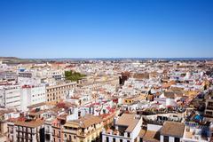 City of Seville in Spain - stock photo