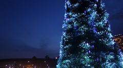 The Supertree at Gardens by the Bay - stock footage