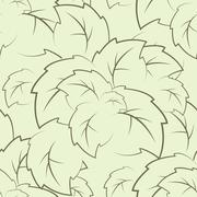 Stock Illustration of seamless texture of the foliage