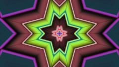 Tunnel Kaleidoscope Loop  Stock Footage