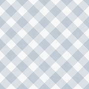 Blue and White Striped Gingham Tile Pattern Repeat Background Stock Illustration