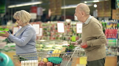 Shopping Together Stock Footage
