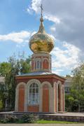 orthodox chapel - stock photo