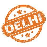 Stock Illustration of Delhi rubber stamp