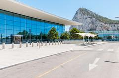 Gibraltar International Airport Terminal Kuvituskuvat