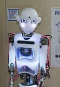 Humanoid robot - stock photo
