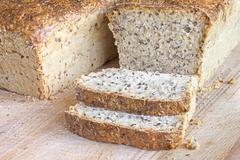 Fresh home made bread. - stock photo