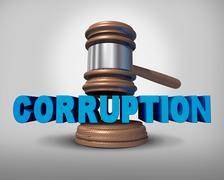 Corruption Concept Stock Illustration