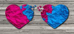 Romantic Relationship - stock illustration