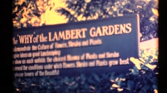 Oregon 1955, Lambert Gardens Stock Footage