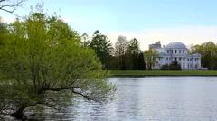 Elagin Island, Yelagin Palace, St. Petersburg Stock Footage