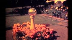 Lambert garden ,selfie Stock Footage