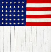 Flag of the United States of America Stock Photos