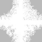 Stock Illustration of Grey Blots on White Background