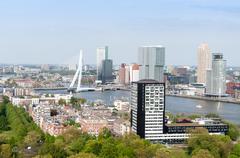 ROTTERDAM, NETHERLANDS - stock photo