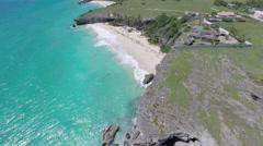 Barbados coastline Stock Footage