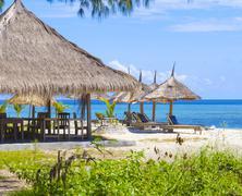 Stock Photo of Tropical coastline.
