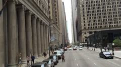 Federal Reserve Bank of Chicago, Illinois, USA. Stock Footage