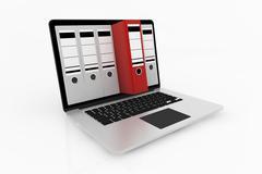 Database storage concept. Stock Illustration