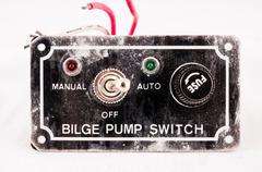 Grunge Switch Interruptor - stock photo