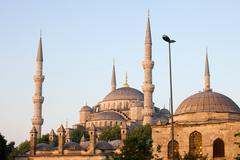 Sultan Ahmet Mosque in Istanbul Stock Photos