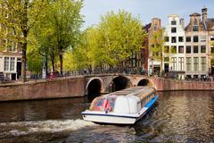 Stock Photo of Amsterdam in Spring
