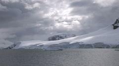 Paradise Harbour, Antarctica Stock Footage