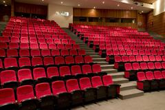 Stock Photo of theater or theatre ready for show
