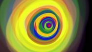 Stock Video Footage of VJ Loop Circular Color rings