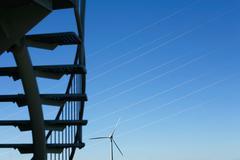 Eolic energy - Stock image - stock photo