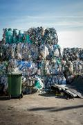 Waste piles Stock Photos