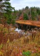 Adirondack creek Stock Photos