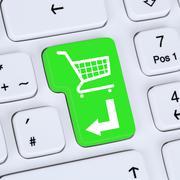 Internet concept online shopping order e-commerce shop Kuvituskuvat