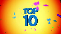 Top 10 animation Stock Footage