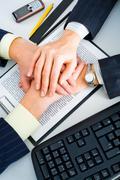 Partnership in business Stock Photos
