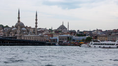 Aerial view of Istanbul Stock Footage