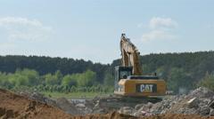 Stone Crushing Machine - stock footage