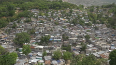 The little houses of Haiti - stock footage