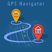 Stock Illustration of GPS navigator vector