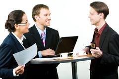 Stock Photo of Corporate work