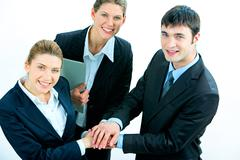 Business support Stock Photos