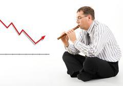 Stock market situation Stock Photos